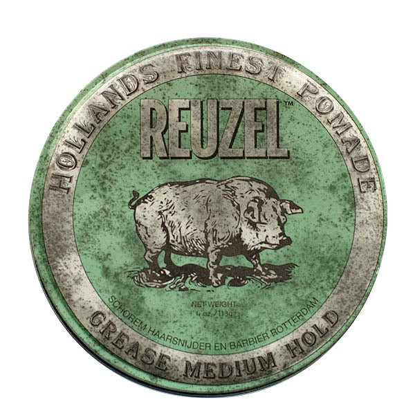 Reuzel Green Medium Hold Grease Pomade