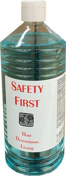 Safty First Hand Desinfektionsmittel