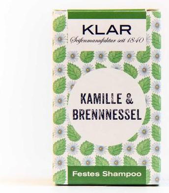 Klar Seifen festes Shampoo für empfindliche Kopfhaut