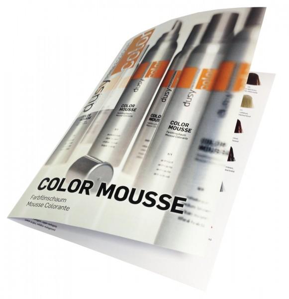 Dusy Color Mousse Farbkarte