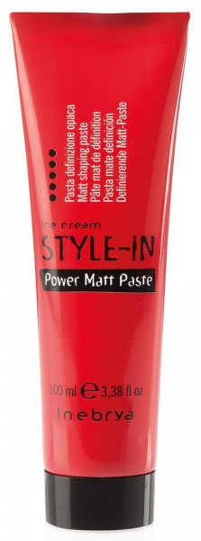 Inebrya Ice Cream Style-In Power Matt Paste