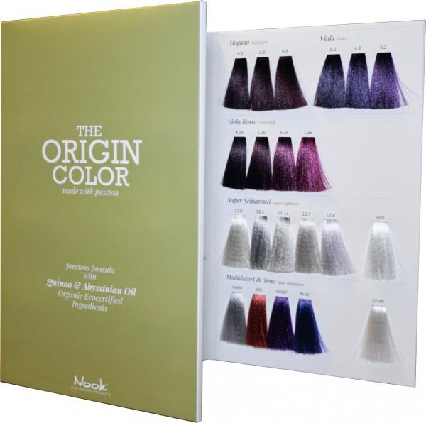 Nook The Origin Color Farbkarte
