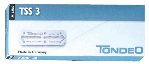 Tondeo TSS 3 Klingen