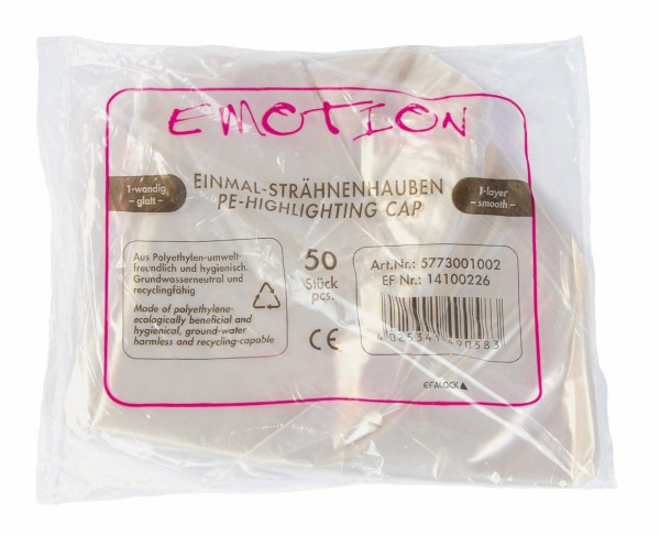 Emotion Einmal-Strähnenhauben