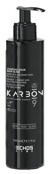Echosline Karbon 9 Black Color Mask
