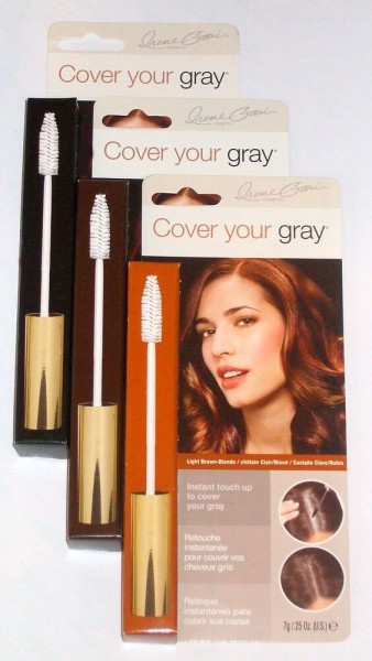 Cover your gray Brush-In Mascara