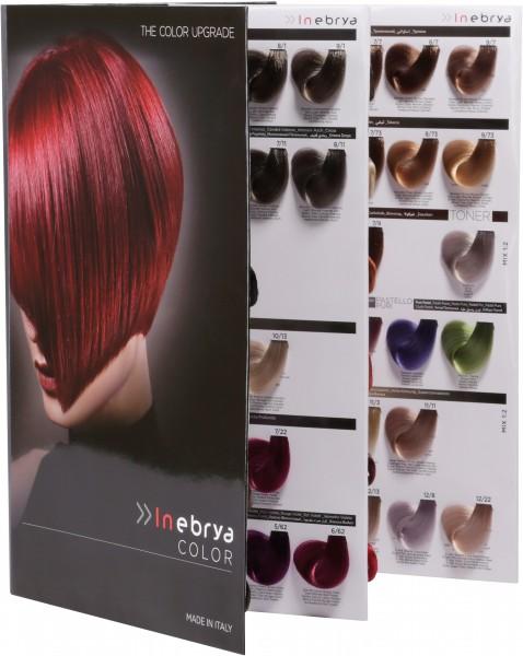 Inebrya Color Farbkarte kompakt